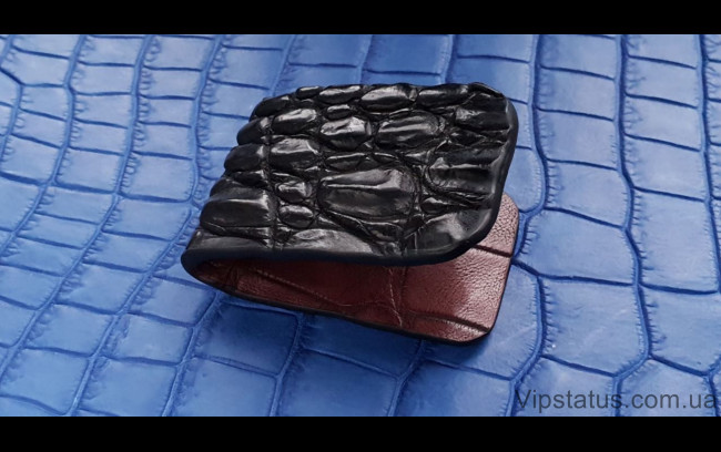 Elite Black Crocodile Эксклюзивный зажим для купюр Black Crocodile Exclusive bill clip image 1