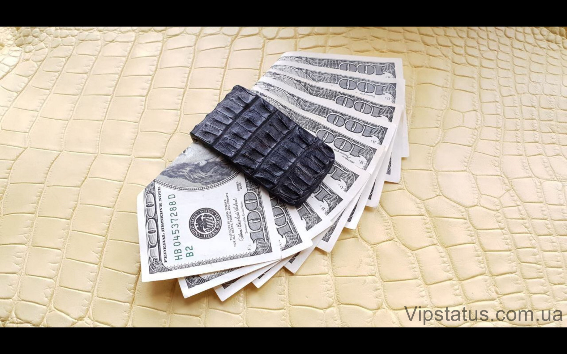 Elite Black King Премиум зажим для купюр Black King Premium bill clip image 1