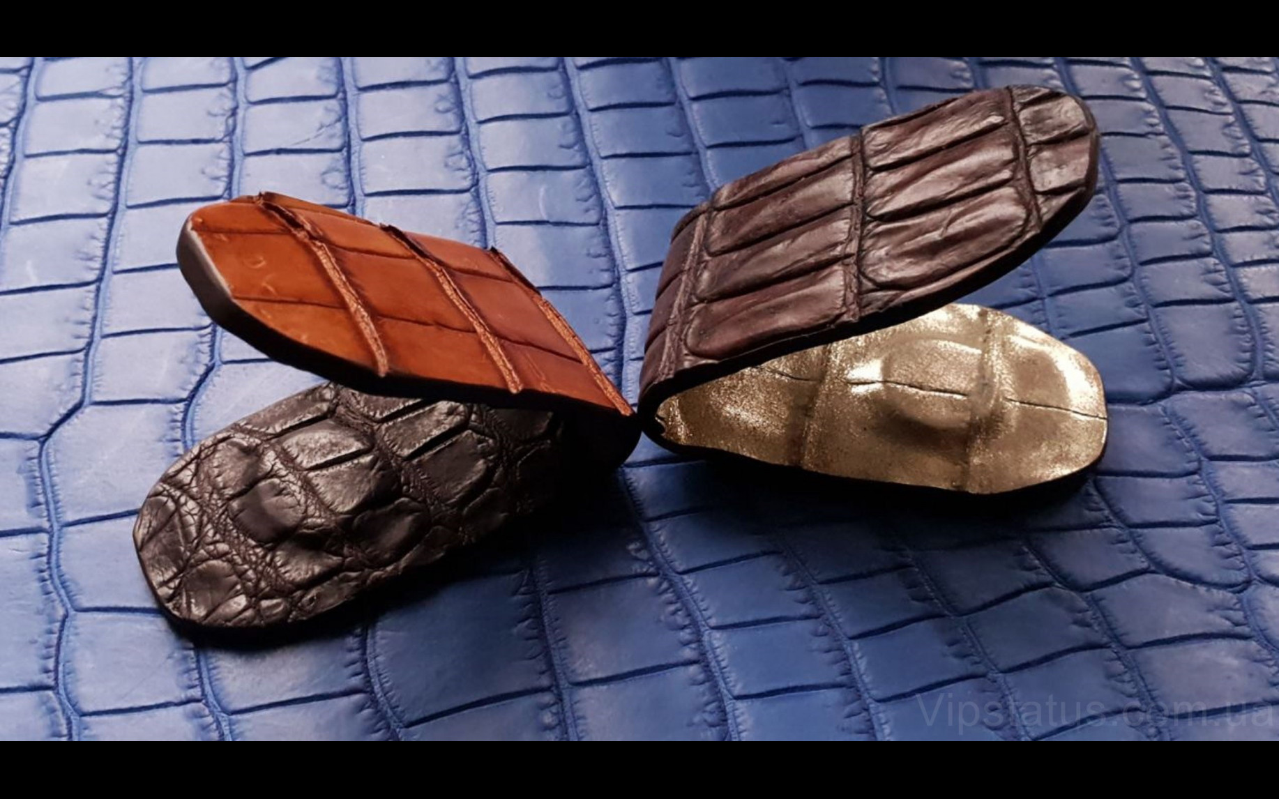 Элитный Vintage Crocodile Элитный зажим для купюр Vintage Crocodile Элитный зажим для купюр изображение 1