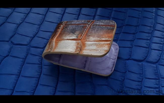 Elite Luxurious Brown Crocodile Элитный зажим для купюр Luxurious Brown Crocodile Elite bill clip image 1