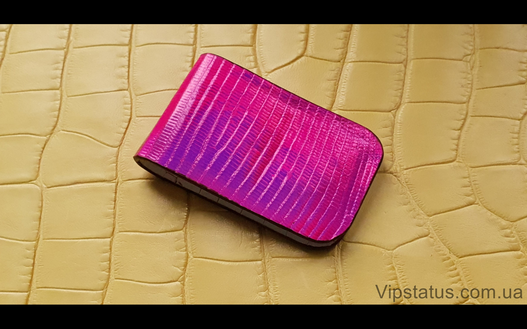 Elite Pink Rose Лакшери зажим для купюр Pink Rose Luxury bill clip image 1