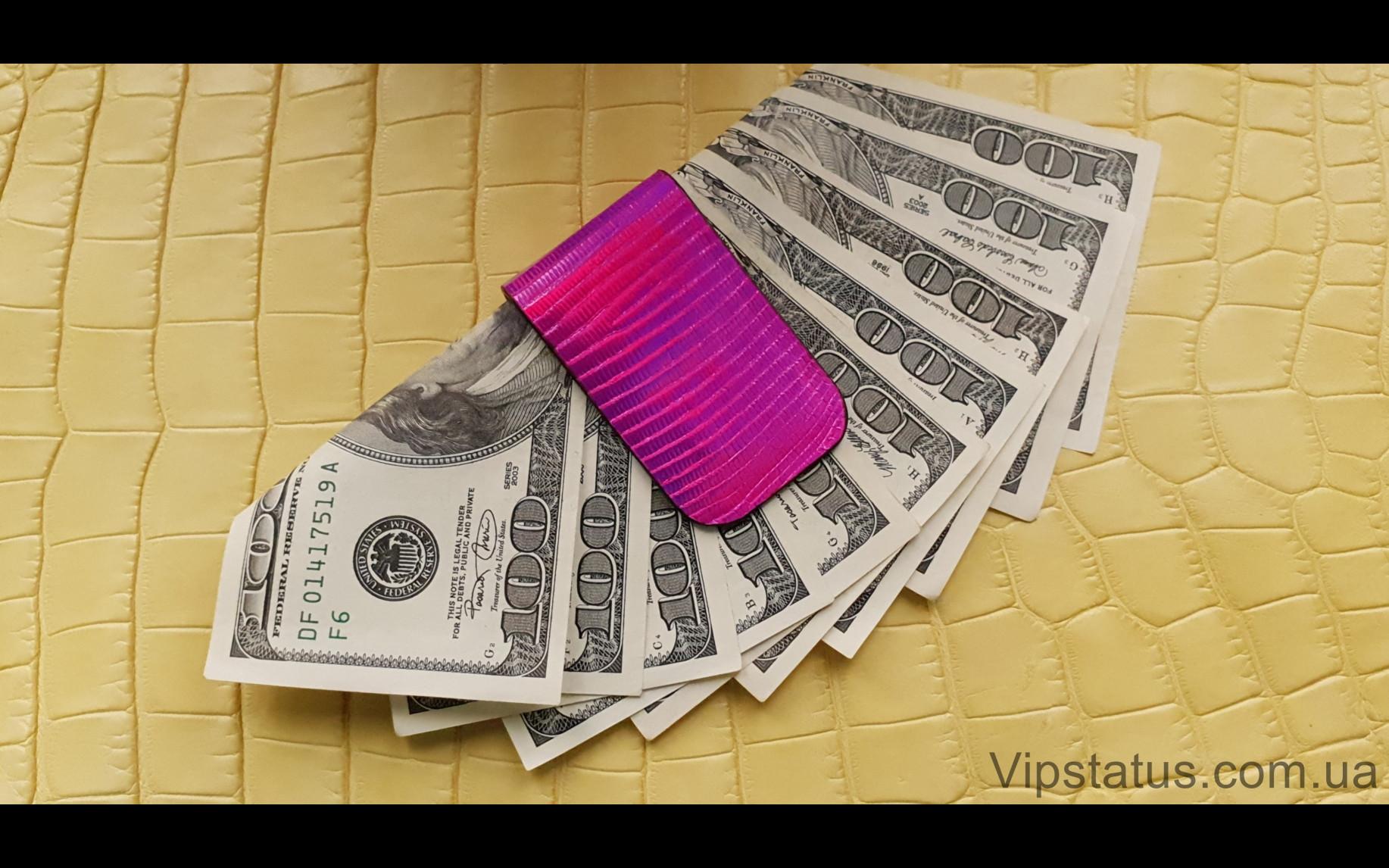 Elite Pink Rose Лакшери зажим для купюр Pink Rose Luxury bill clip image 3