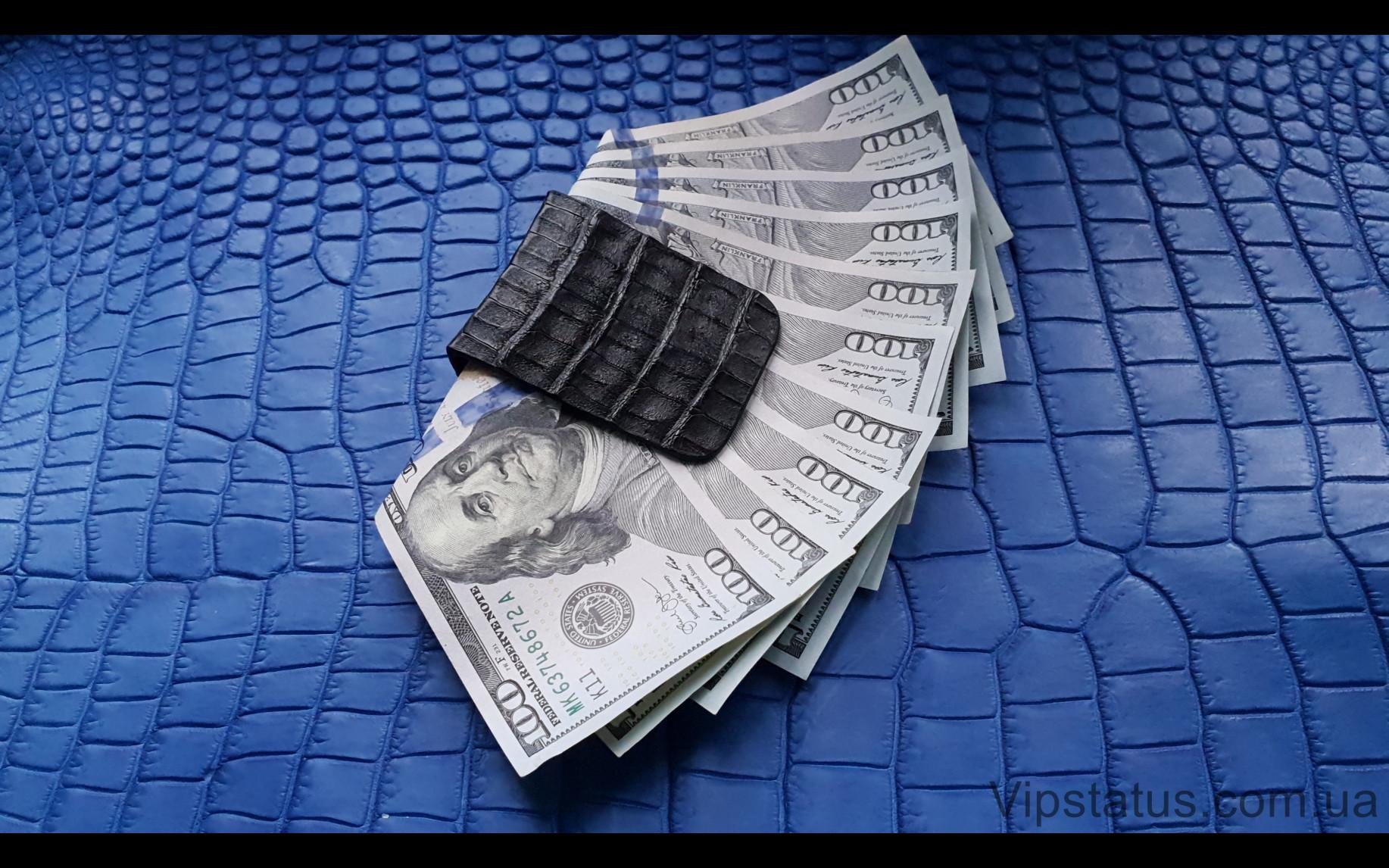 Элитный Premium Crocodile Эксклюзивный зажим для купюр Premium Crocodile Эксклюзивный зажим для купюр изображение 3