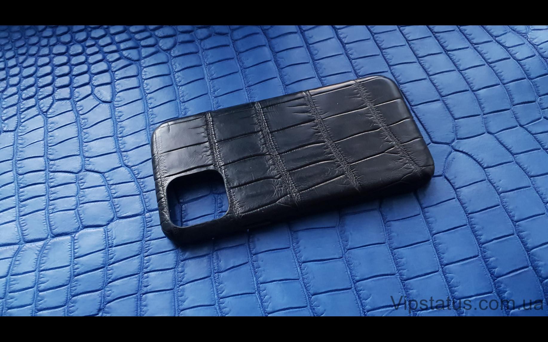 Элитный Black Lord Эксклюзивный чехол IPhone 11 Pro кожа крокодила Black Lord Эксклюзивный чехол IPhone 11 Pro кожа крокодила изображение 1