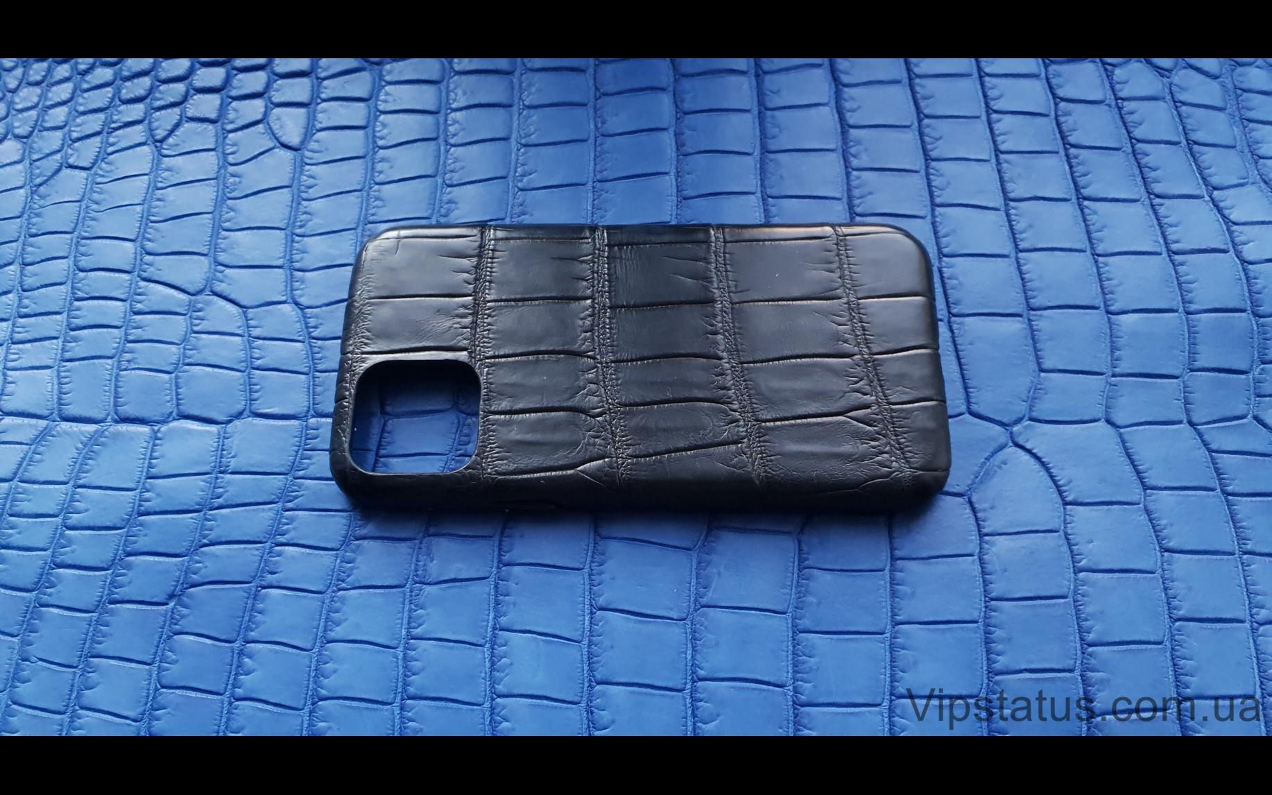 Элитный Black Lord Эксклюзивный чехол IPhone 11 Pro кожа крокодила Black Lord Эксклюзивный чехол IPhone 11 Pro кожа крокодила изображение 3