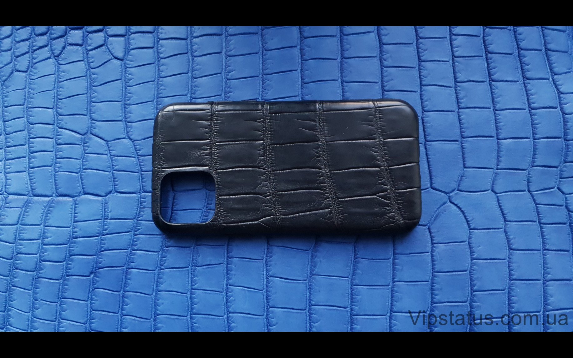 Элитный Black Lord Эксклюзивный чехол IPhone 11 Pro кожа крокодила Black Lord Эксклюзивный чехол IPhone 11 Pro кожа крокодила изображение 4