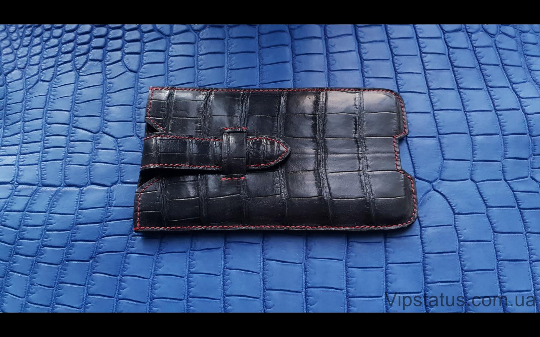 Elite Classic Edition Премиум кейс IPhone X XS 11 Pro 12 Pro Classic Edition Premium case IPhone X XS 11 Pro 12 Pro Crocodile leather image 3