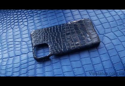 Dark Blue Vip case IPhone 11 Pro Max Crocodile leather image