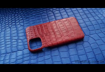 Red Storm Elite case IPhone 11 Pro Max Crocodile leather image