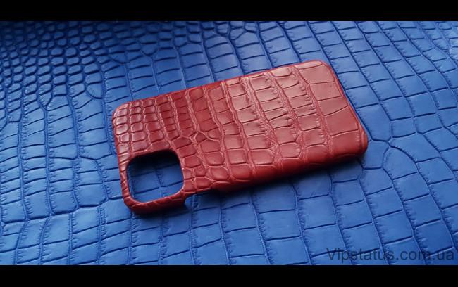 Элитный Red Storm Элитный чехол IPhone 11 Pro Max кожа крокодила Red Storm Элитный чехол IPhone 11 Pro Max кожа крокодила изображение 1