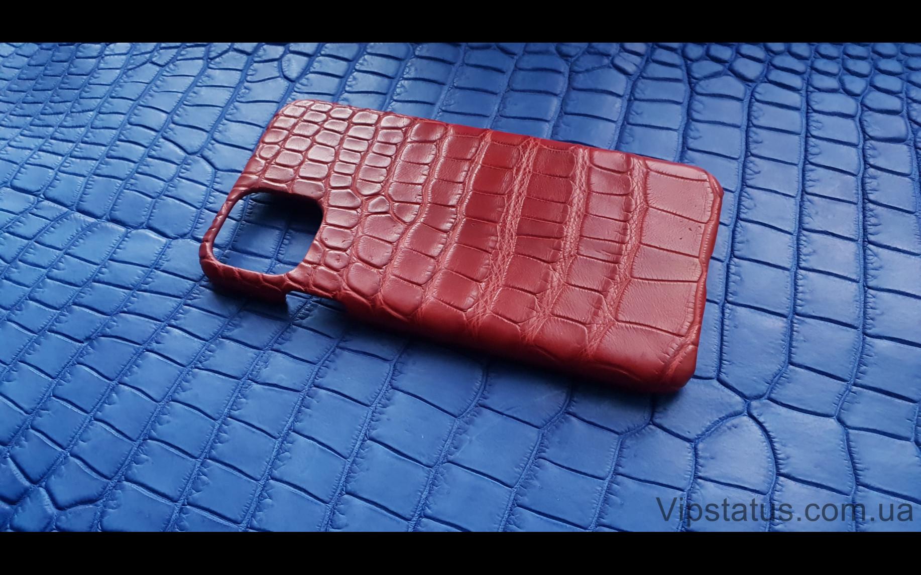 Элитный Red Storm Элитный чехол IPhone 11 Pro Max кожа крокодила Red Storm Элитный чехол IPhone 11 Pro Max кожа крокодила изображение 2