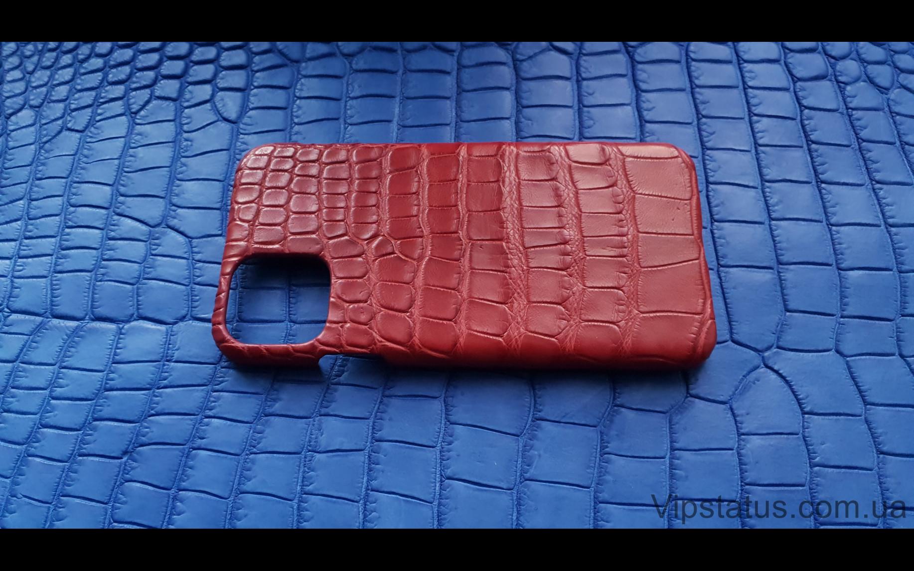 Элитный Red Storm Элитный чехол IPhone 11 Pro Max кожа крокодила Red Storm Элитный чехол IPhone 11 Pro Max кожа крокодила изображение 3