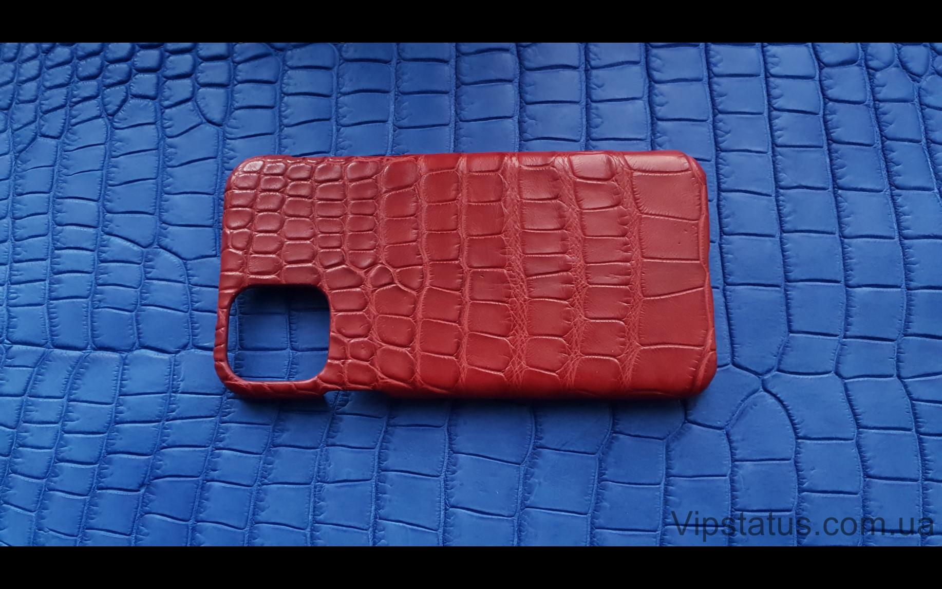 Элитный Red Storm Элитный чехол IPhone 11 Pro Max кожа крокодила Red Storm Элитный чехол IPhone 11 Pro Max кожа крокодила изображение 4