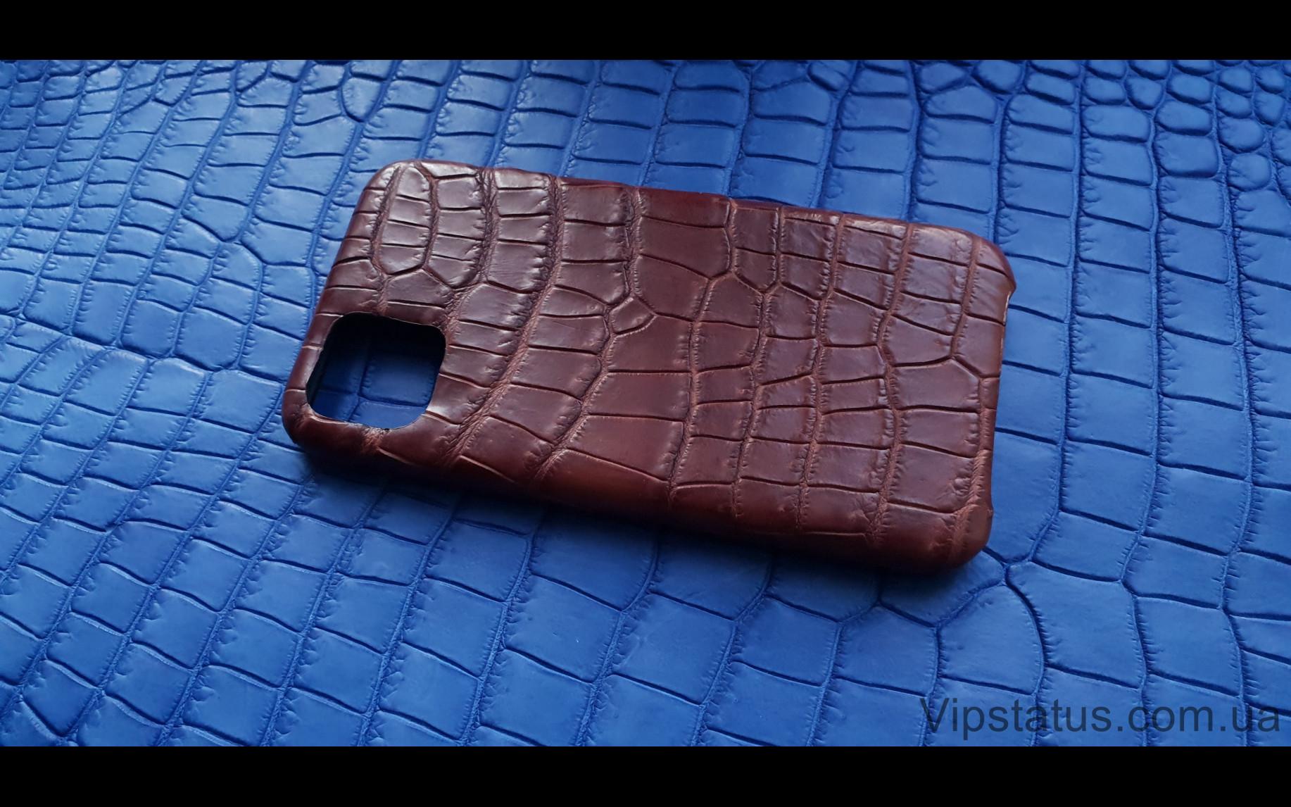 Elite Rich Crocodile Эксклюзивный чехол IPhone 11 Pro Max Rich Crocodile Exclusive case IPhone 11 Pro Max Crocodile leather image 2