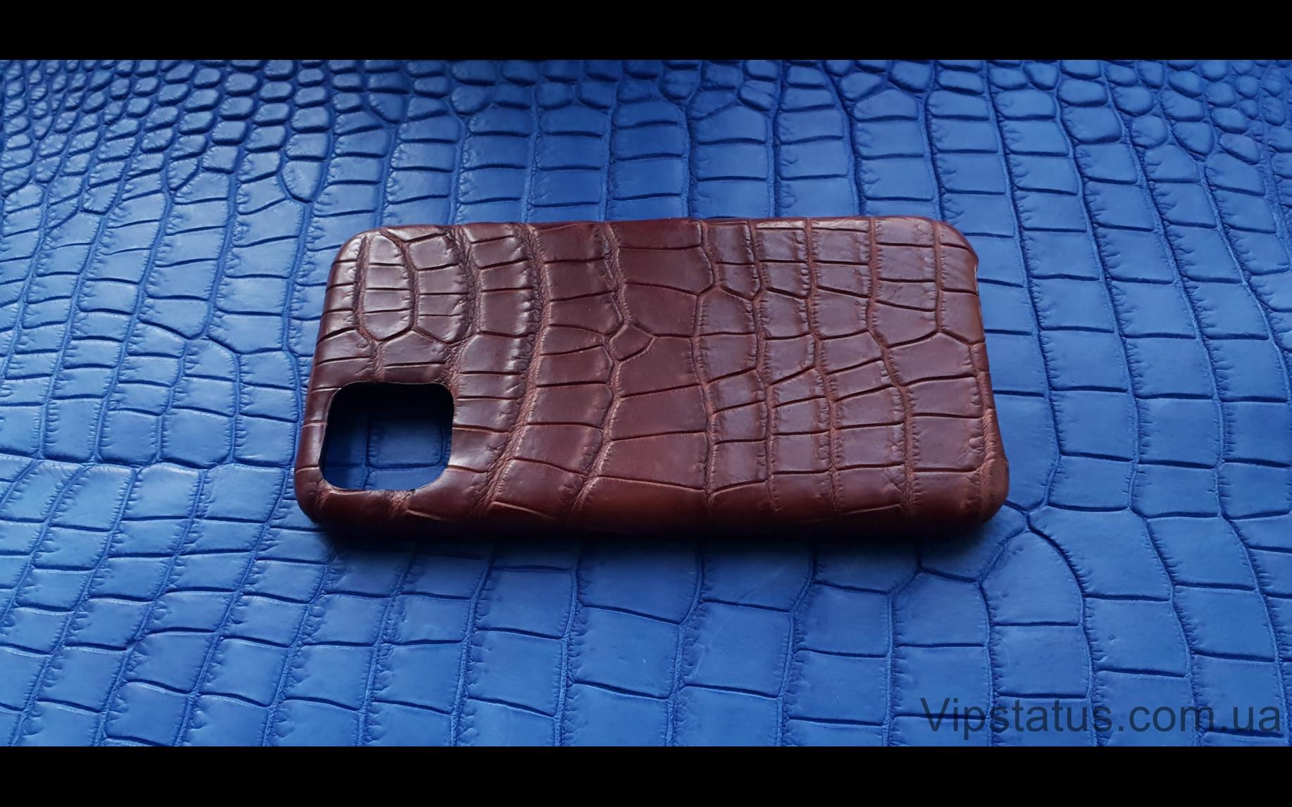 Elite Rich Crocodile Эксклюзивный чехол IPhone 11 Pro Max Rich Crocodile Exclusive case IPhone 11 Pro Max Crocodile leather image 3