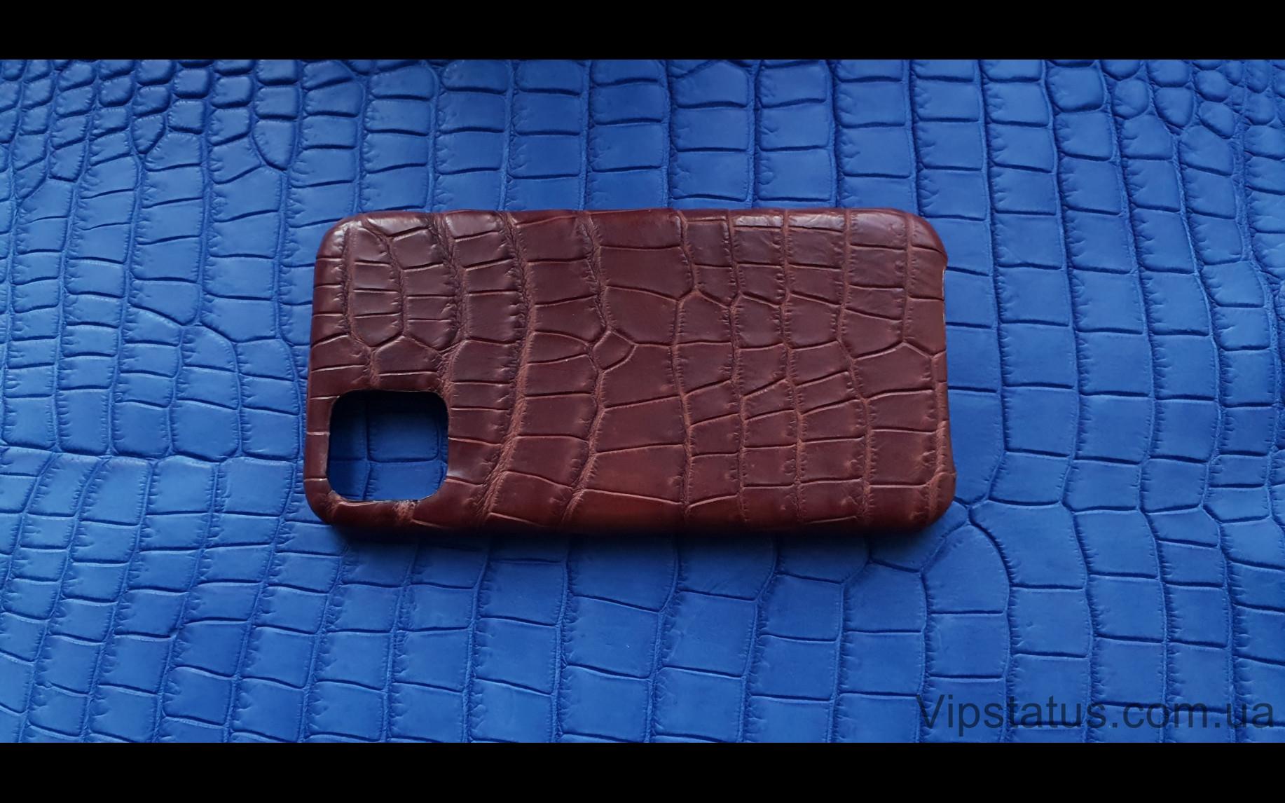 Elite Rich Crocodile Эксклюзивный чехол IPhone 11 Pro Max Rich Crocodile Exclusive case IPhone 11 Pro Max Crocodile leather image 4