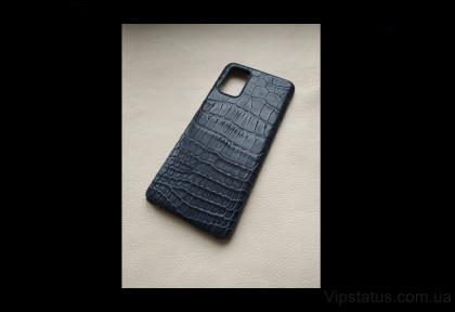 Black Night Premium case Samsung S20 S21 Plus Crocodile leather image