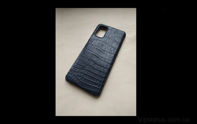 Elite Black Night Премиум чехол Samsung S20 S21 Plus кожа крокодила Black Night Premium case Samsung S20 S21 Plus Crocodile leather image 1