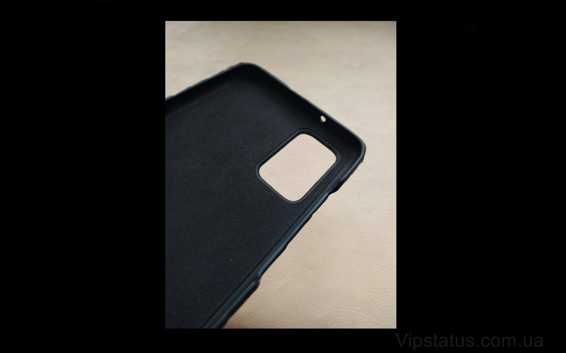 Elite Black Night Премиум чехол Samsung S20 S21 Plus кожа крокодила Black Night Premium case Samsung S20 S21 Plus Crocodile leather image 3