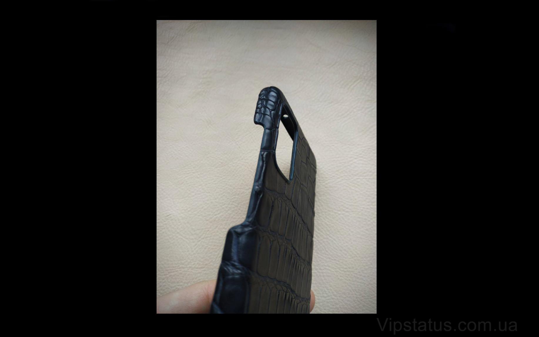 Elite Black Night Премиум чехол Samsung S20 S21 Plus кожа крокодила Black Night Premium case Samsung S20 S21 Plus Crocodile leather image 4