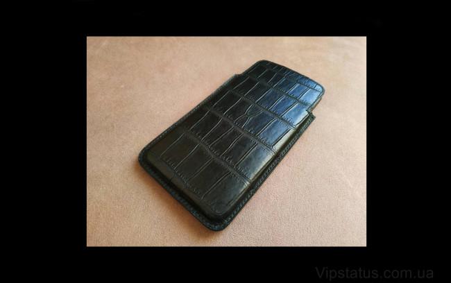 Elite Black Prince Вип кейс IPhone 11 12 Pro Max кожа крокодила Black Prince Vip case IPhone 11 12 Pro Max Crocodile leather image 1