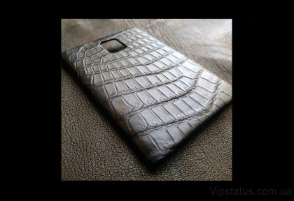 Black Raven Brutal case BlackBerry Passport Crocodile leather image