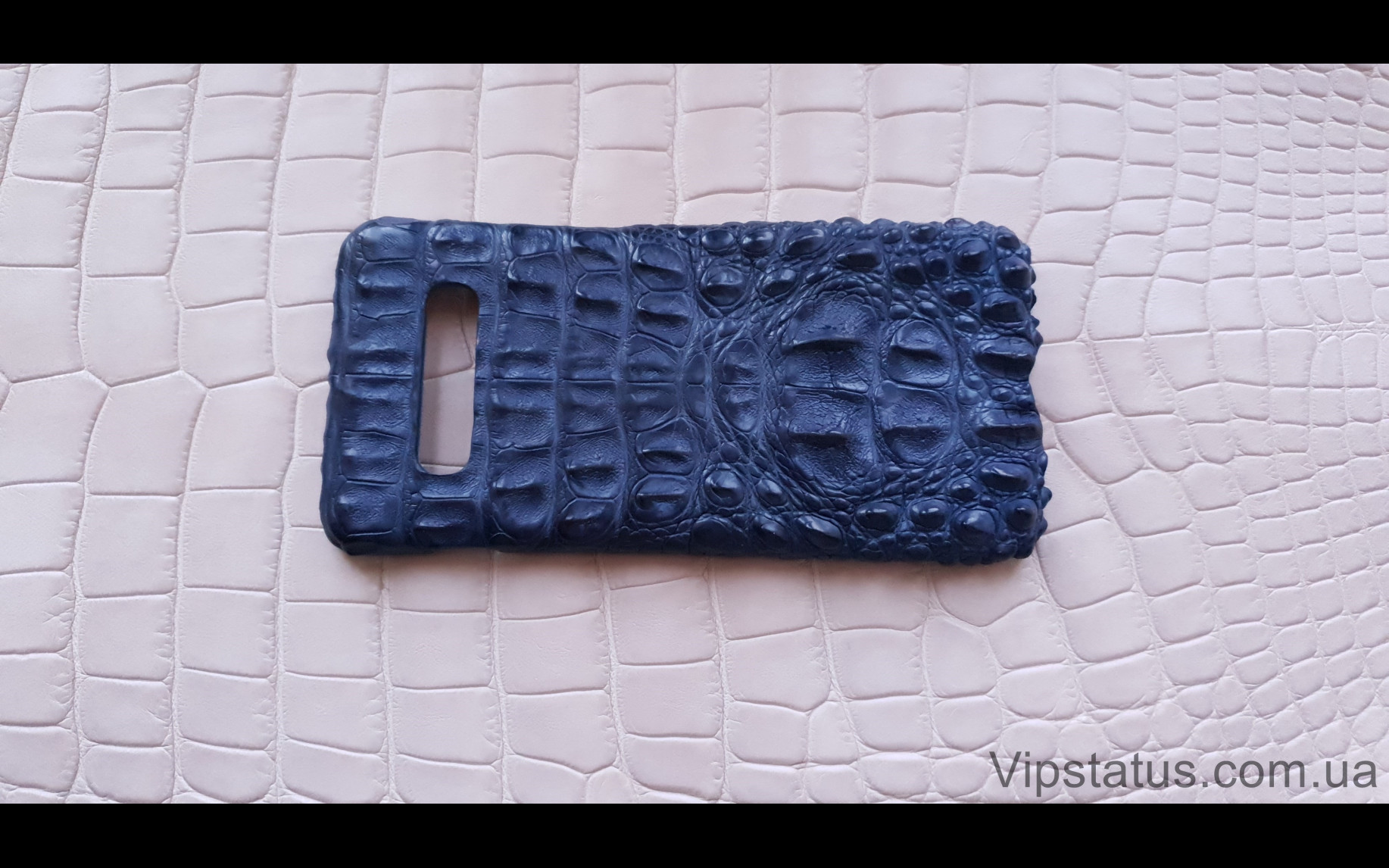 Elite Blue Crocodile Брутальный чехол Samsung S10 S20 S21 Plus Blue Crocodile Brutal case Samsung S10 S20 S21 Plus Crocodile leather image 4
