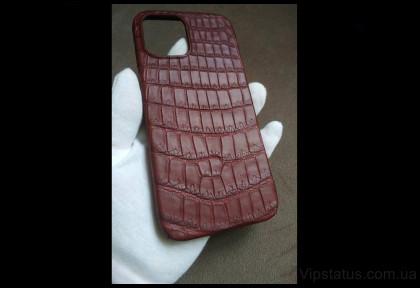 Cherry Edition Elite case IPhone 11 12 Pro Max Crocodile leather image