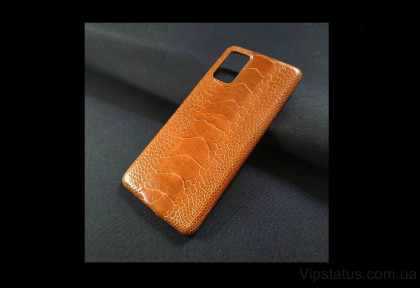 King Edition Exotic case Samsung S20 S21 Plus Ostrich leather image