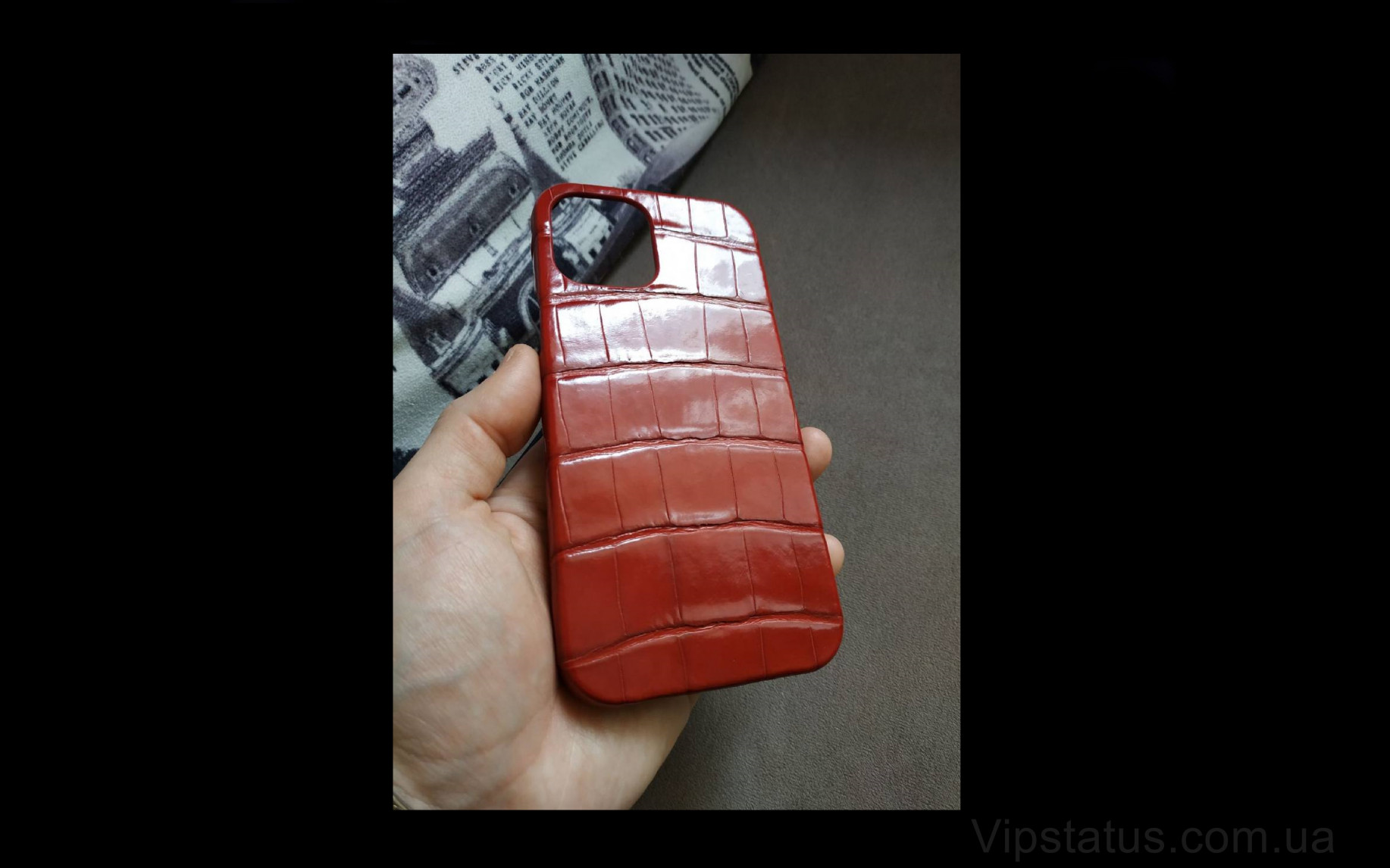 Elite Premium Gloss Люксовый чехол IPhone 11 12 Pro Max Premium Gloss Luxury case IPhone 11 12 Pro Max Crocodile leather image 1