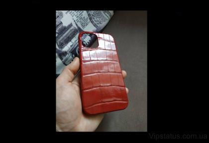 Premium Gloss Luxury case IPhone 11 12 Pro Max Crocodile leather image