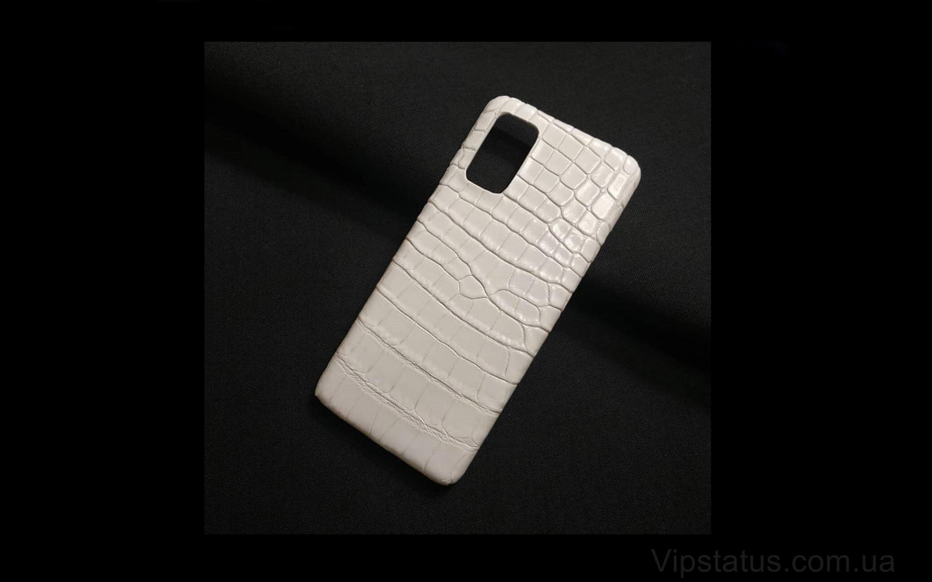 Elite White Style Вип чехол Samsung S20 S21 Plus кожа крокодила White Style Vip case Samsung S20 S21 Plus Crocodile leather image 1