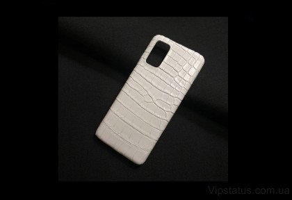 White Style Vip case Samsung S20 S21 Plus Crocodile leather image