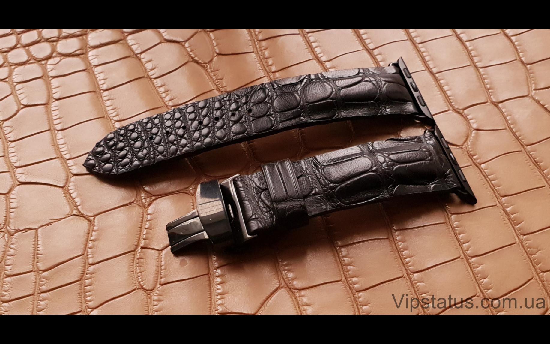 Elite Брутальный ремешок для часов Apple кожа крокодила Brutal Crocodile Strap for Apple watches image 1
