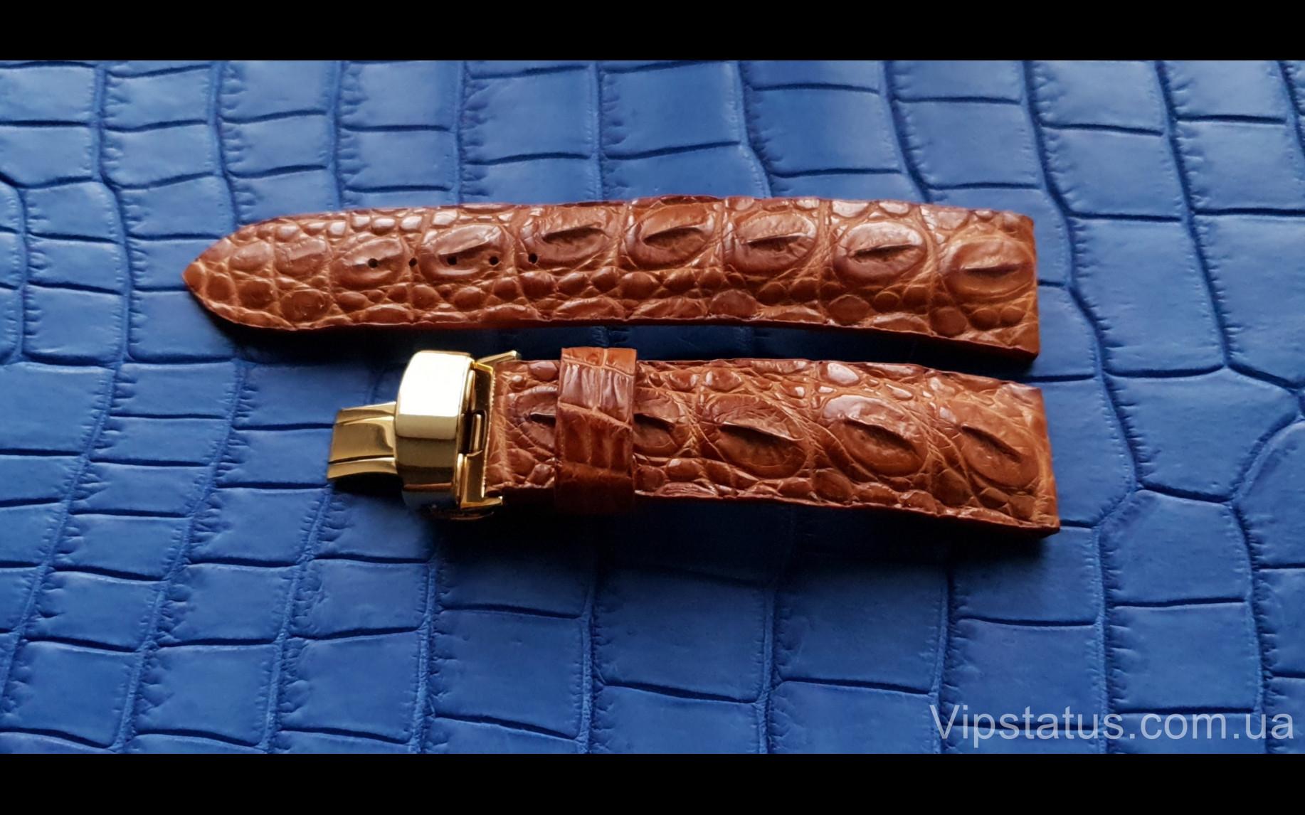 Elite Брутальный ремешок для часов Montblanc кожа крокодила Brutal Crocodile Strap for Montblanc watches image 2