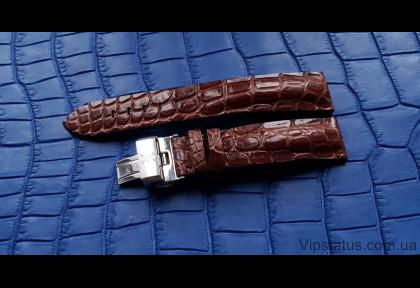 Вип ремешок для часов Bernhard H. Mayer кожа крокодила изображение
