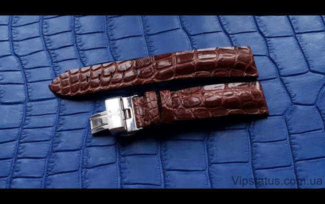 Elite Вип ремешок для часов Bernhard H. Mayer кожа крокодила Vip Crocodile Strap for Bernhard H. Mayer watches image 1