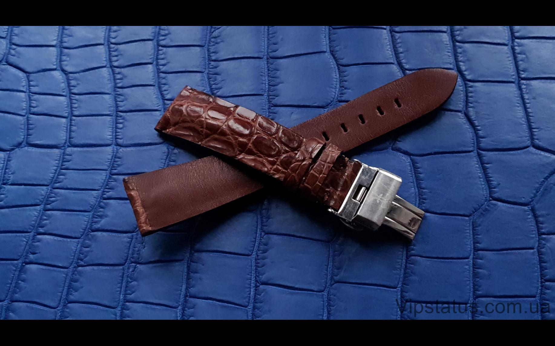 Elite Вип ремешок для часов Bernhard H. Mayer кожа крокодила Vip Crocodile Strap for Bernhard H. Mayer watches image 3