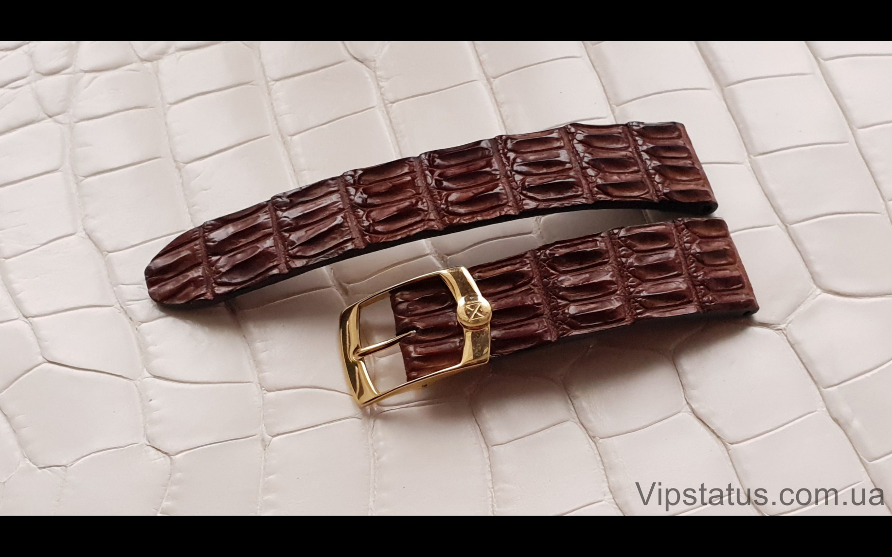 Elite Вип ремешок для часов Chopard кожа крокодила Vip Crocodile Strap for Chopard watches image 1