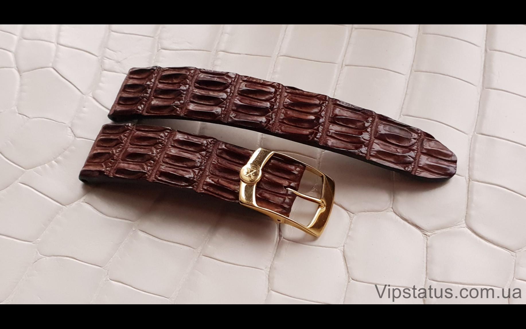 Elite Вип ремешок для часов Chopard кожа крокодила Vip Crocodile Strap for Chopard watches image 4