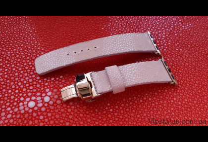 Luxury Stingray Leather Strap for Apple watches image
