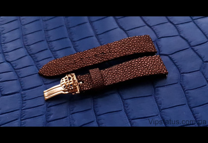 Luxury Stingray Leather Strap for Frederique Constant watches image