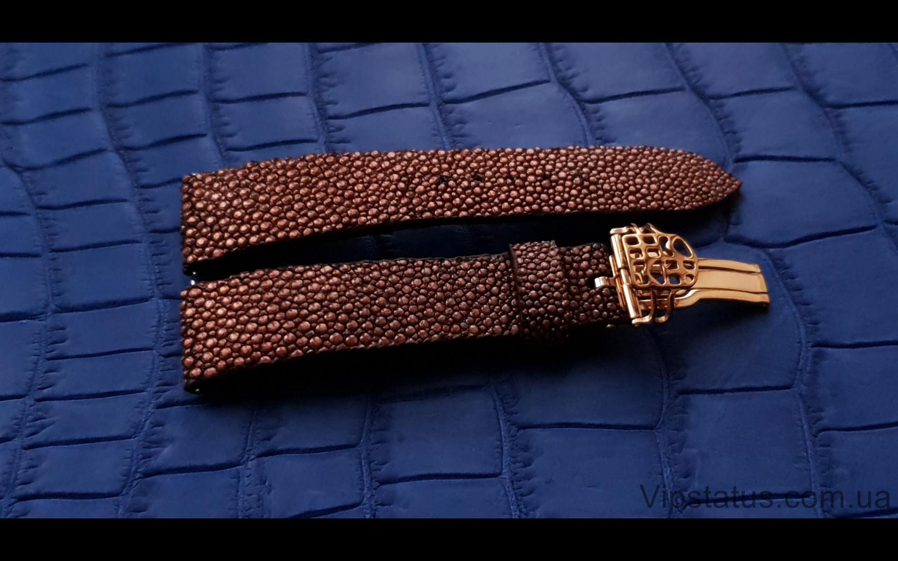 Elite Лакшери ремешок для часов Frederique Constant кожа ската Luxury Stingray Leather Strap for Frederique Constant watches image 2