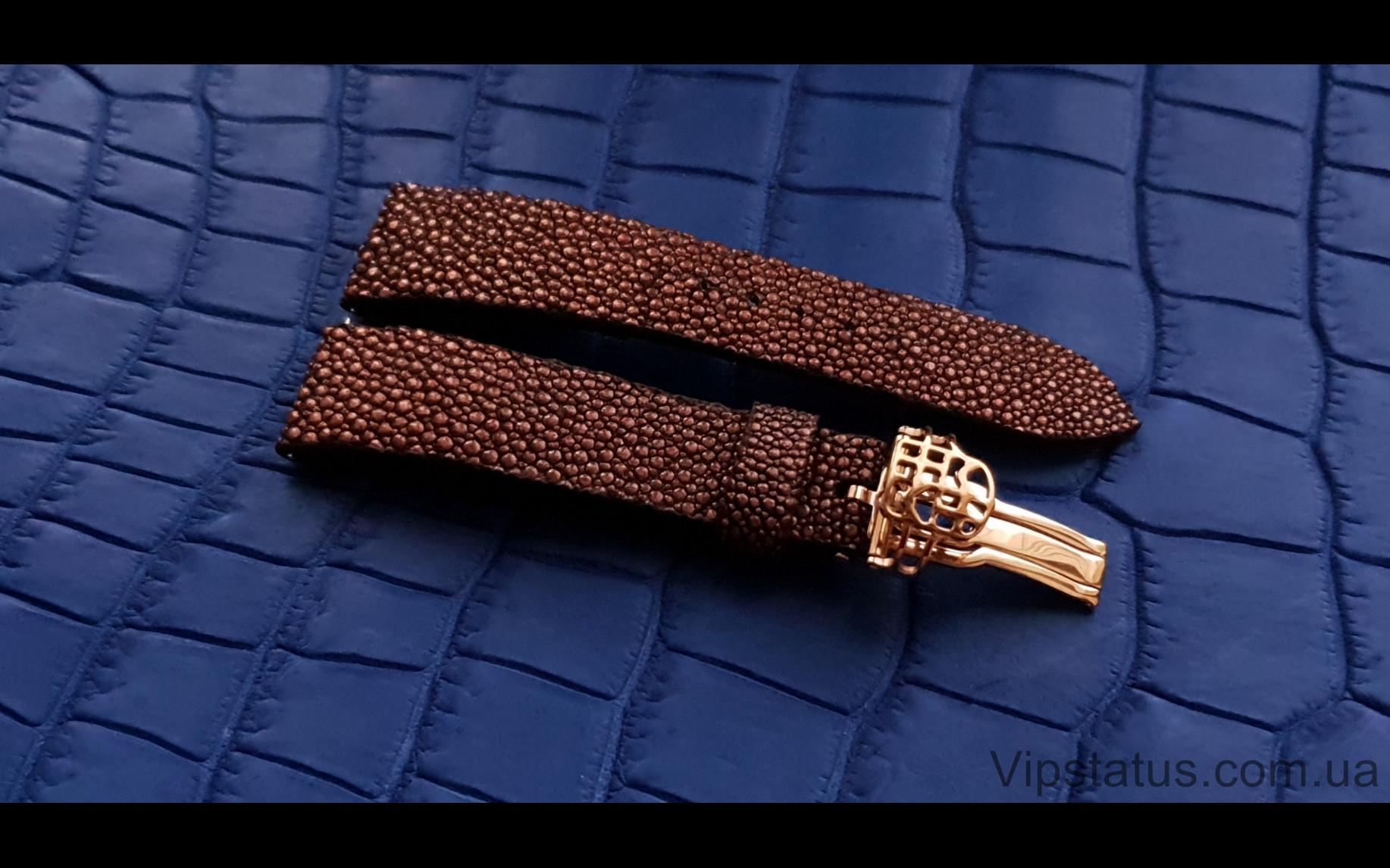 Elite Лакшери ремешок для часов Frederique Constant кожа ската Luxury Stingray Leather Strap for Frederique Constant watches image 3