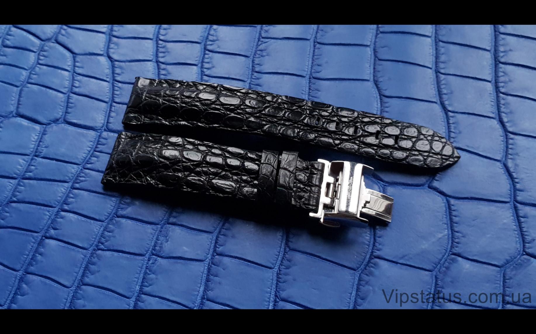 Elite Лакшери ремешок для часов Longines кожа крокодила Luxury Crocodile Strap for Longines watches image 2