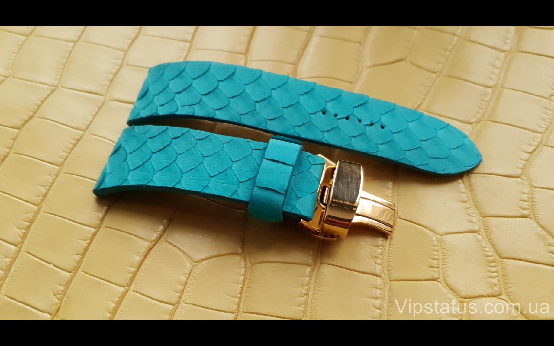 Элитный Люксовый ремешок для часов Tiffany кожа питона Люксовый ремешок для часов Tiffany кожа питона изображение 1