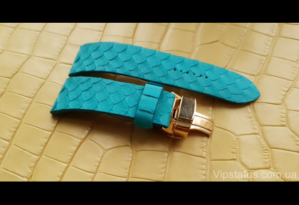 Luxury Python Leather Strap forTiffany watches image