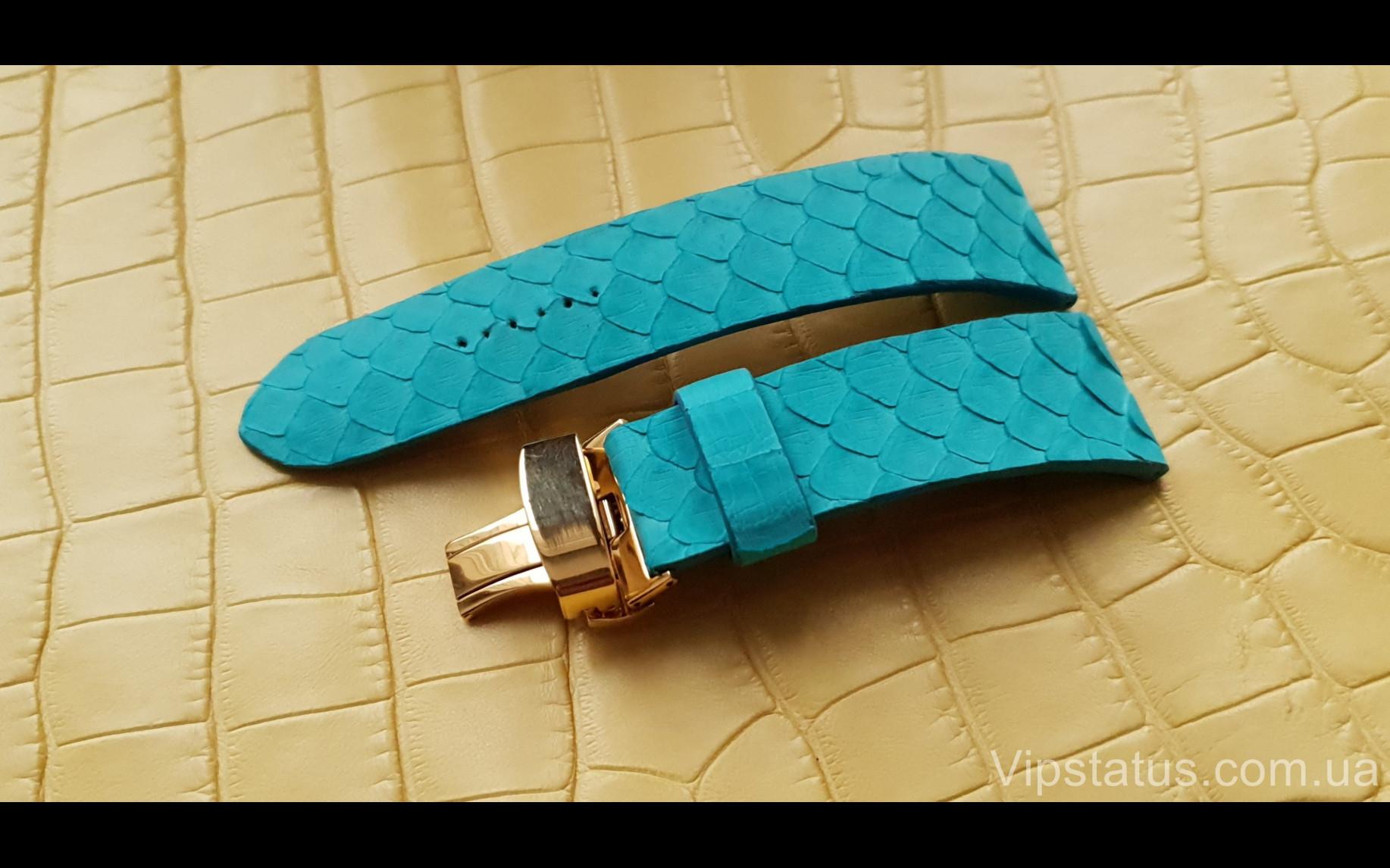 Элитный Люксовый ремешок для часов Tiffany кожа питона Люксовый ремешок для часов Tiffany кожа питона изображение 2