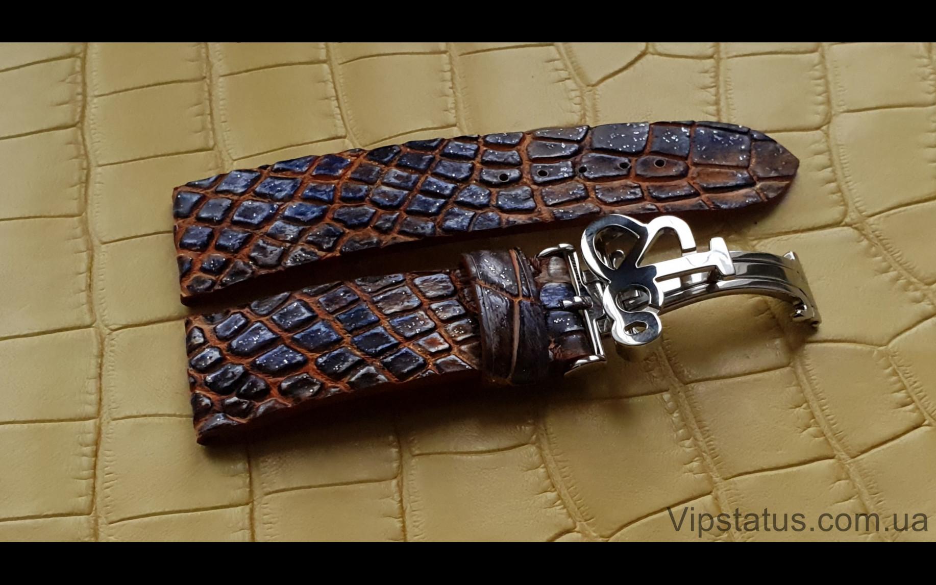 Elite Премиум ремешок для часов Jacob&Co кожа крокодила Premium Crocodile Strap for Jacob&Co watches image 2