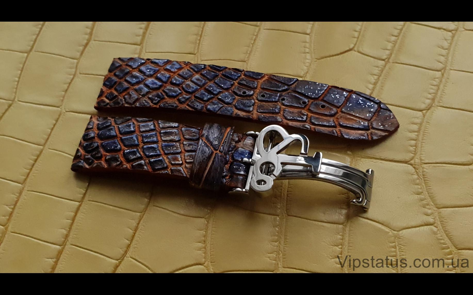 Elite Премиум ремешок для часов Jacob&Co кожа крокодила Premium Crocodile Strap for Jacob&Co watches image 4